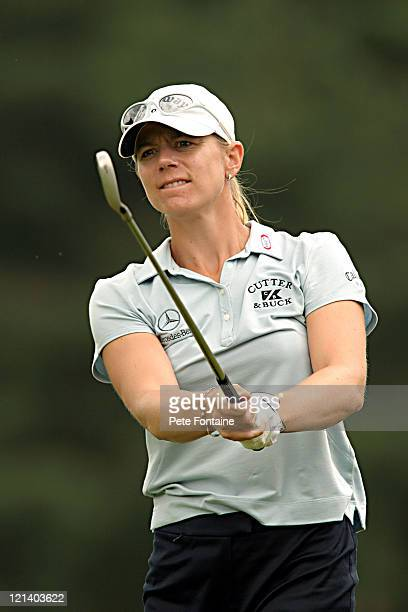 Annika Sorenstam during practice day at the Weetabix Women's British Open at Sunningdale Golf Club July 27 2004