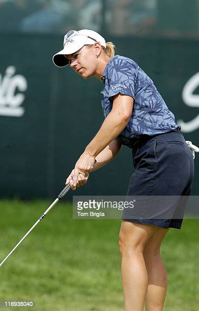 Annika Sorenstam during ShopRite LPGA Classic at Seaview Marriot Resort Spa in Galloway Township New Jersey United States
