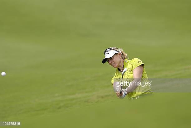 Annika Sorenstam during the first round of the ADT Championship at the Trump International Golf Club in West Palm Beach Florida on Thursday November...