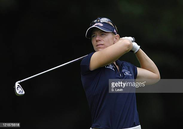 Annika Sorenstam during the first round of the Jamie Farr Owens Corning Classic at Highland Meadows Golf Club in Sylvania Ohio on July 13 2006
