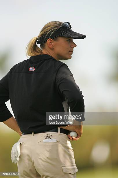 Annika Sorenstam during the third round of the 2004 ADT Championship at the Trump International GC in West Palm Beach FL