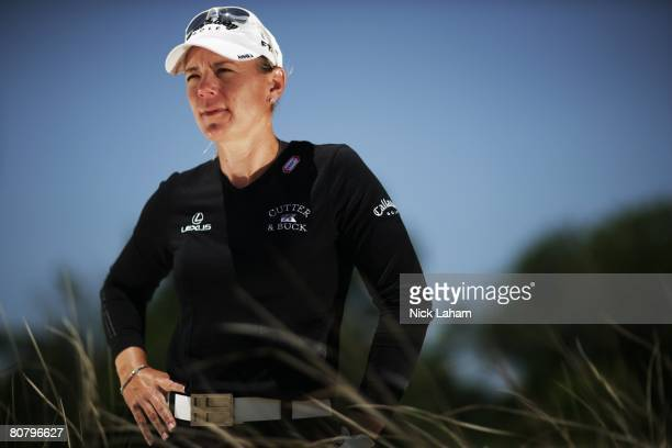 Annika Sorenstam of Sweden poses during a LPGA portrait session on April 16 2008 at the Reunion Resort in Orlando Florida