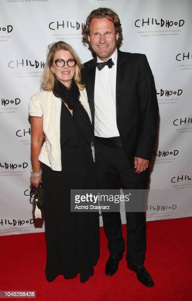 Annika Sten Parson and ParJorgen Parson attend the World Childhood Foundation USA 2018 Thank You Gala at Cipriani Downtown on October 3 2018 in New...