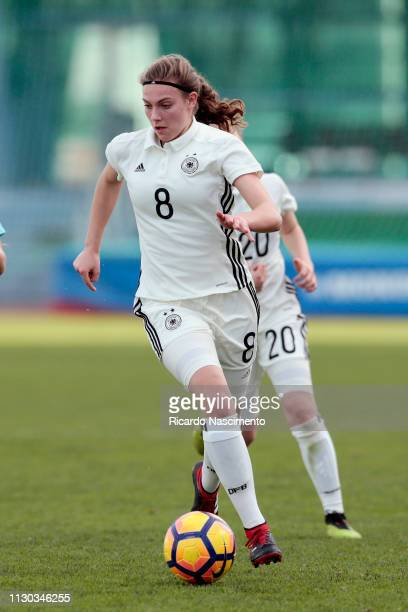 Annika Wohnen of U16 Girls Germany during UEFA Development Tournament match between U16 Girls Germany and U16 Girls Netherlands at VRSA Stadium on...
