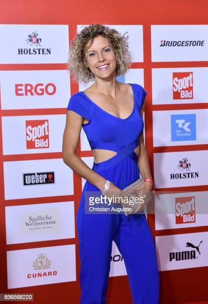 Annika Zimmermann attends the Sport Bild Award at the Fischauktionshalle on August 21 2017 in Hamburg Germany