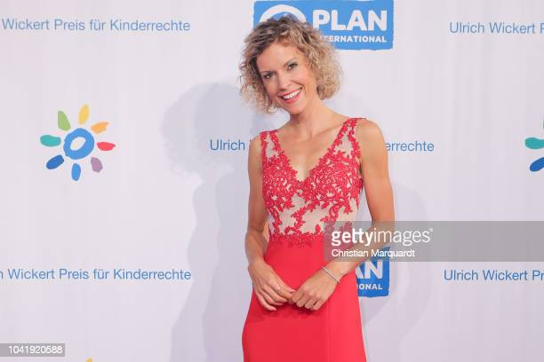 Annika Zimmermann attends the Ulrich Wickert and Peter SchollLatour award at Bar jeder Vernunft on September 27 2018 in Berlin Germany