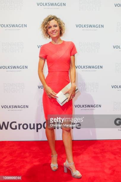 Annika Zimmermann attends the Volkswagen Dinner Night at DRIVE Volkswagen Group Forum on November 07 2018 in Berlin Germany