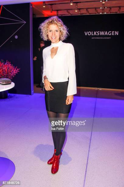 Annika Zimmermann attends the Volkswagen Dinner Night prior to the GQ Men of the Year Award 2017 on November 8 2017 in Berlin Germany