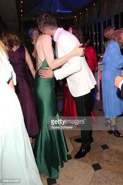 Annique Delphine Jochen Schropp dance during the Gala Spa Awards at Brenners ParkHotel Spa on April 14 2018 in BadenBaden Germany