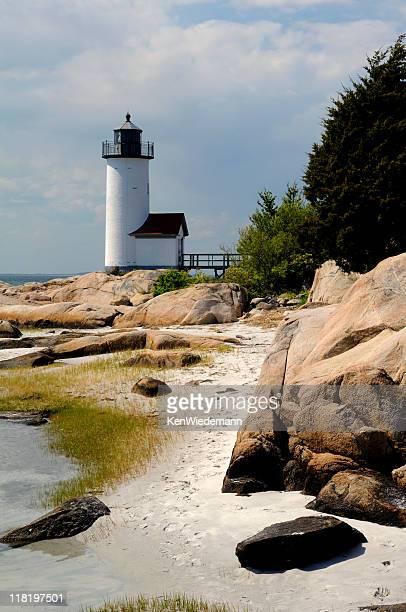 Annisquam Lighthouse with Beach