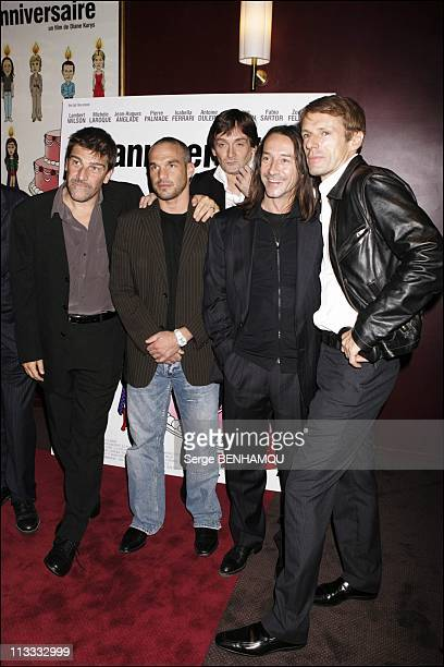 Anniversaire Premiere In Paris - On September 19Th, 2005 - In Paris, France - Here, Fabio Sartor Philippe Bas Pierre Palmade Jean Hugues Anglade...