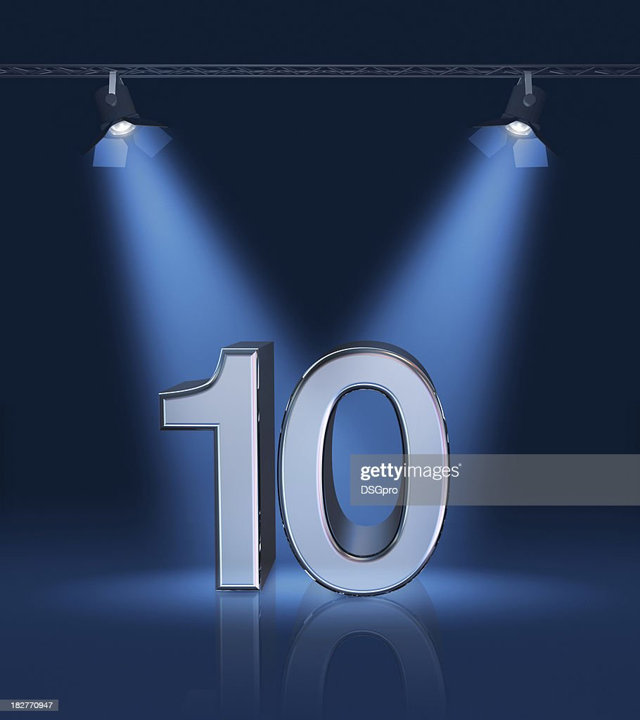 Anniversary 10 : Stock Photo