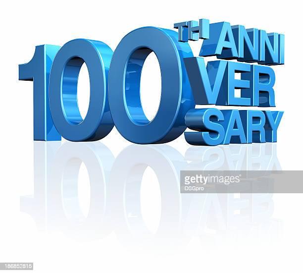 aniversário 100th - aniversário de 100 anos - fotografias e filmes do acervo