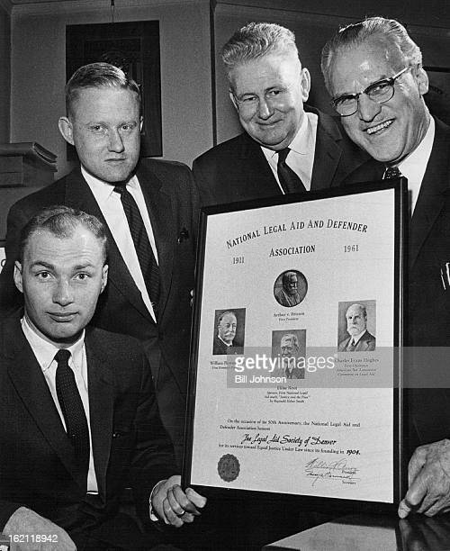 MAR 15 1962 MAR 16 1962 Anniversary Celebrated The legal Aid Society of Denver a United Fund agency celebrated its 50th anniversary Thursday by...