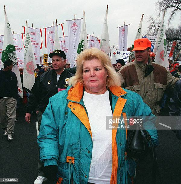 Sandra Cano, the plaintiff in the Roe v. Wade companion case Doe v. Bolton, participates in the March for Life. Cano's case, which was decided the...
