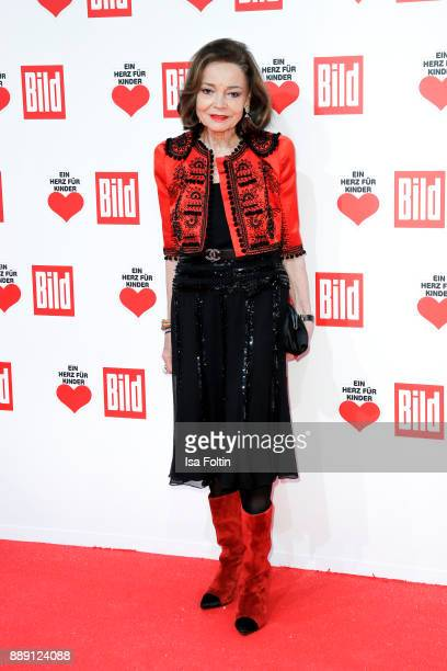 AnnKathrin Bauknecht attends the 'Ein Herz fuer Kinder Gala' at Studio Berlin Adlershof on December 9 2017 in Berlin Germany