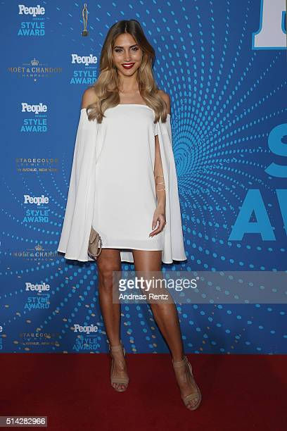 AnnKathrin Broemmel attends the PEOPLE Style Awards at Hotel Vier Jahreszeiten on March 7 2016 in Munich Germany
