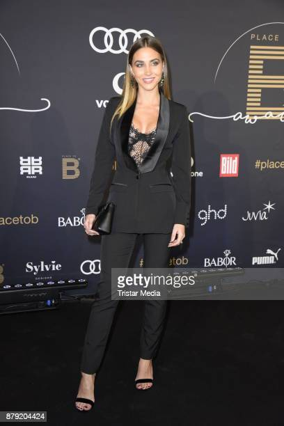 AnnKathrin Broemmel attends the Place To B Influencer Award at Axel Springer Haus on November 25 2017 in Berlin Germany