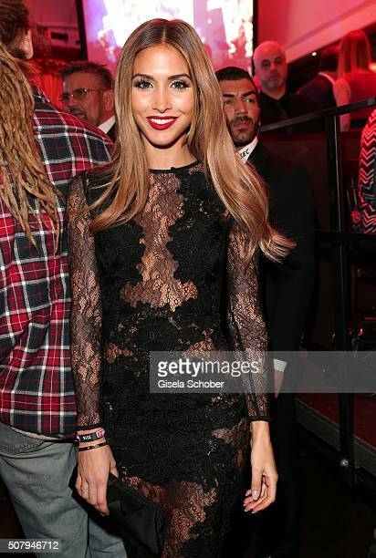 AnnKathrin Broemmel girlfriend of Mario Goetze during the Lambertz Monday Night 2016 at Alter Wartesaal on February 1 2016 in Cologne Germany