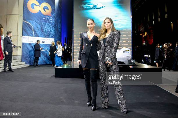 AnnKathrin Goetze and Victoria Swarovski arrives for the 20th GQ Men of the Year Award at Komische Oper on November 8 2018 in Berlin Germany