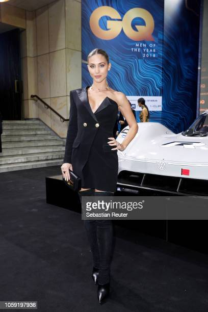 AnnKathrin Goetze arrives for the 20th GQ Men of the Year Award at Komische Oper on November 8 2018 in Berlin Germany