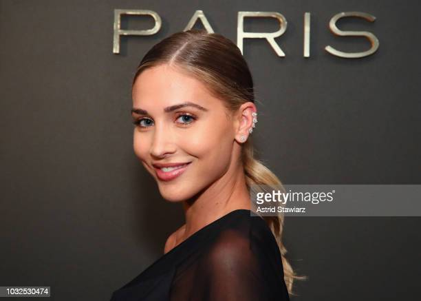 AnnKathrin Goetze attends the MESSIKA Party NYC Fashion Week Spring/Summer 2019 Launch Of The Messika By Gigi Hadid New Collection at Milk Studios on...
