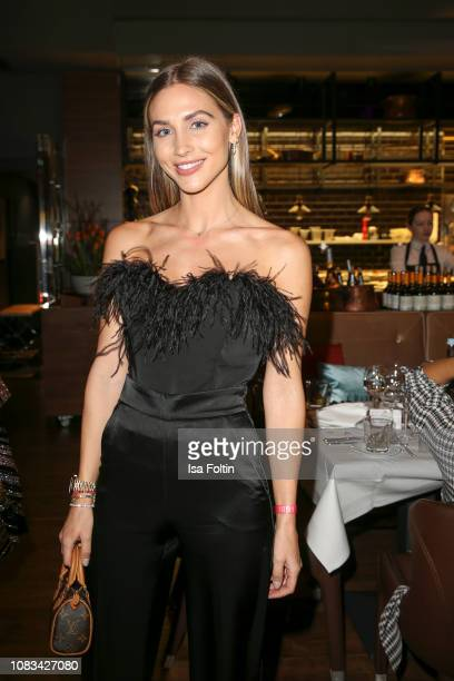 AnnKathrin Goetze during the Grazia Fashion Dinner 2019 at Titanic Hotel on January 16 2019 in Berlin Germany