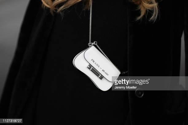 AnnKathrin Goetze wearing The Row sweater Prada bag on February 02 2019 in Duesseldorf Germany