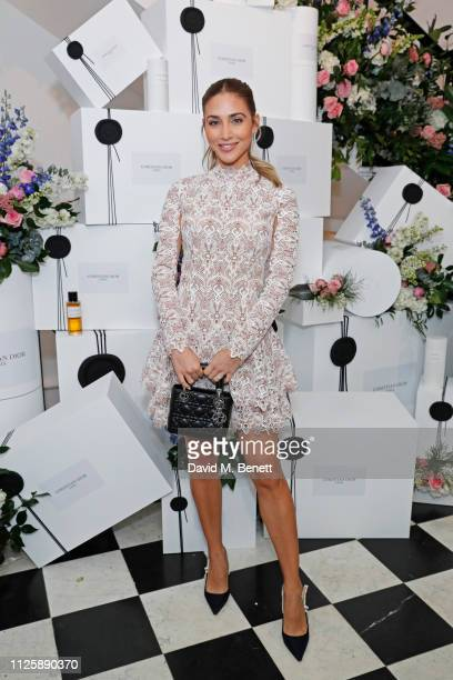 AnnKathrin Gotze attends the Maison Christian Dior London cocktail party on February 19 2019 in London England