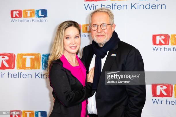 AnnKathrin Kramer and Harald Krassnitzer during the 23rd RTL Telethon on November 22 2018 in Huerth Germany