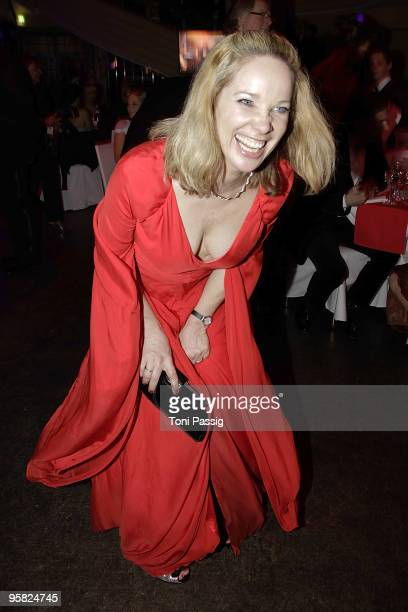 AnnKathrin Kramer attends the 37 th German Filmball 2010 at the hotel Bayrischer Hof on January 16 2010 in Munich Germany