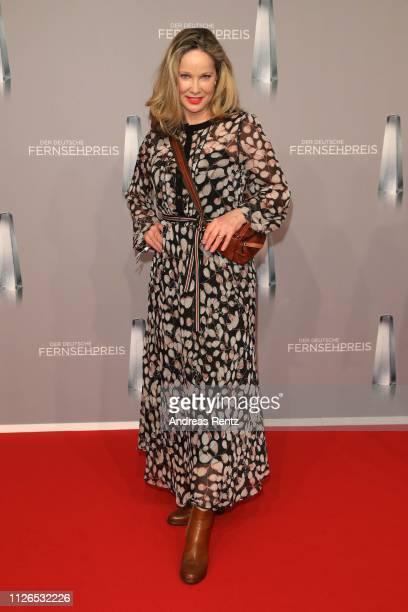AnnKathrin Kramer attends the German Television Award at Rheinterrasse on January 31 2019 in Duesseldorf Germany