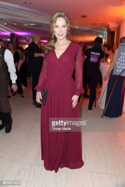 AnnKathrin Kramer attends the Gloria Deutscher Kosmetikpreis 2017 at Hilton Hotel on March 31 2017 in Duesseldorf Germany