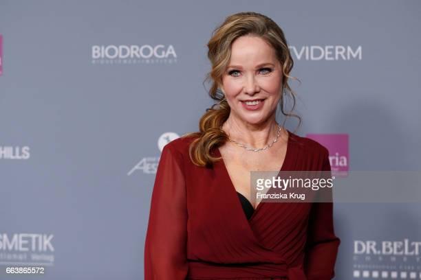 AnnKathrin Kramer attends the Gloria Deutscher Kosmetikpreis at Hilton Hotel on March 31 2017 in Duesseldorf Germany