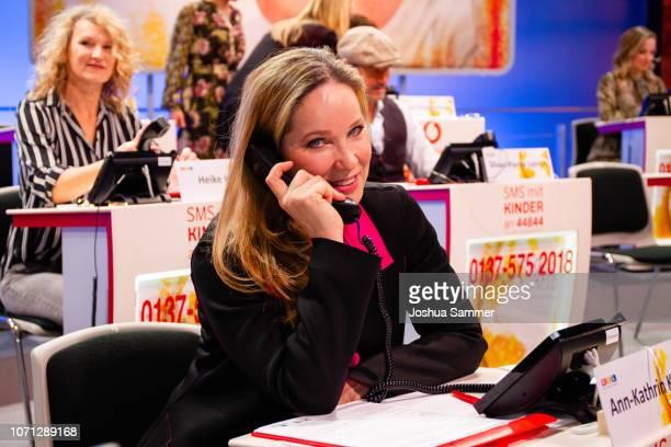AnnKathrin Kramer during the 23rd RTL Telethon on November 22 2018 in Huerth Germany