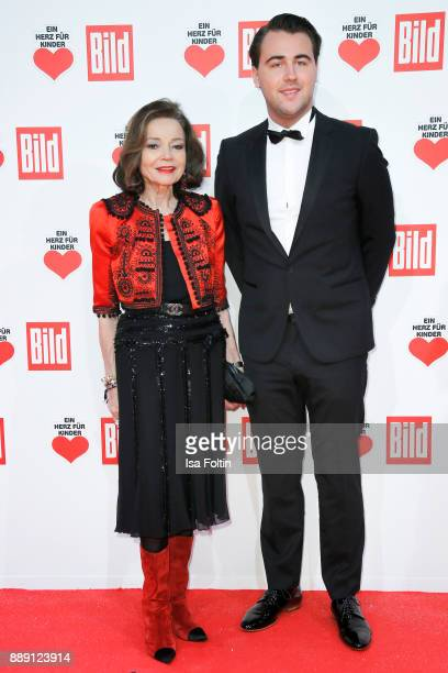 AnnKatrin Bauknecht and Lucas Bauknecht attend the 'Ein Herz fuer Kinder Gala' at Studio Berlin Adlershof on December 9 2017 in Berlin Germany