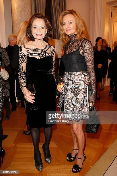 AnnKatrin Bauknecht and Sigrid Streletzki attend the 'Chaim Sheba Medical Center' Gala on November 06 2014 in Berlin Germany
