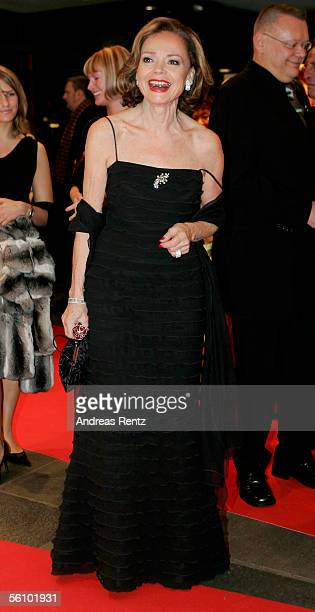 AnnKatrin Bauknecht arrives at the AIDS Benefit Opera Gala on November 5 2005 in Berlin Germany