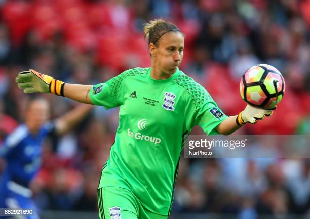 AnnKatrin Berger of Birmingham City LFC during The SSE FA Women's CupFinal match betweenBirmingham City Ladies v Manchester City women at Wembley...