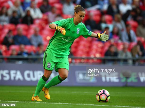 AnnKatrin Berger of Birmingham City LFC during The SSE FA Women's CupFinal match between Birmingham City Ladies v Manchester City women at Wembley...