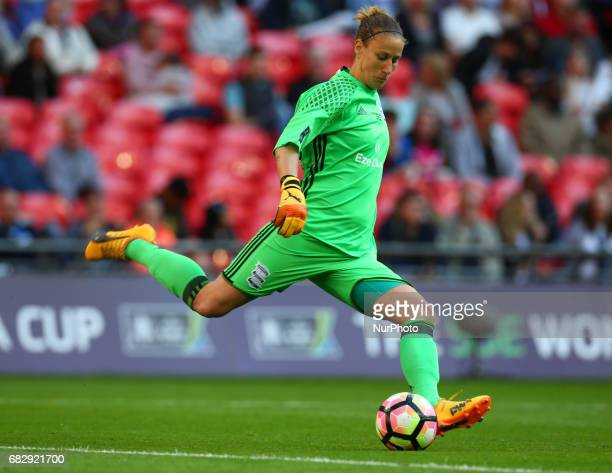 AnnKatrin Berger of Birmingham City LFC during The SSE FA Women's CupFinal match between Birmingham City Ladies v Manchester City women at Wembley...