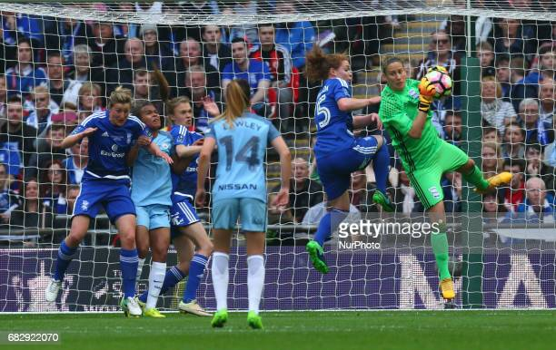 AnnKatrin Berger of Birmingham City LFC during The SSE FA Women's CupFinal match betweenBirmingham City Ladies v Manchester City women at Wembley...