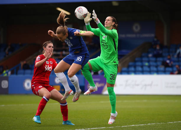 GBR: Chelsea Women v Reading Women - Barclays FA Women's Super League