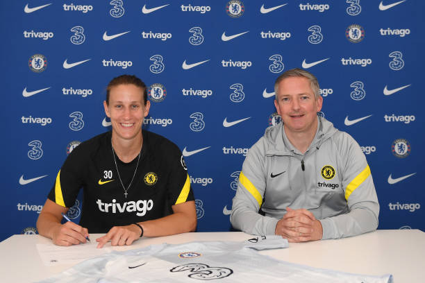 GBR: Ann-Katrin Berger Signs Contract Extension With Chelsea Women