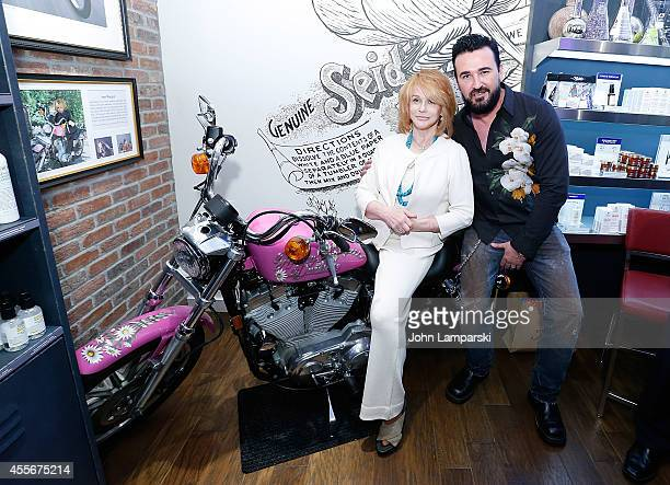 AnnMargret and Kiehl's President Chris Salgardo attend AnnMargret Honors The Wounded Warrior Project at Kiehl's Since 1851 Nolita on September 18...