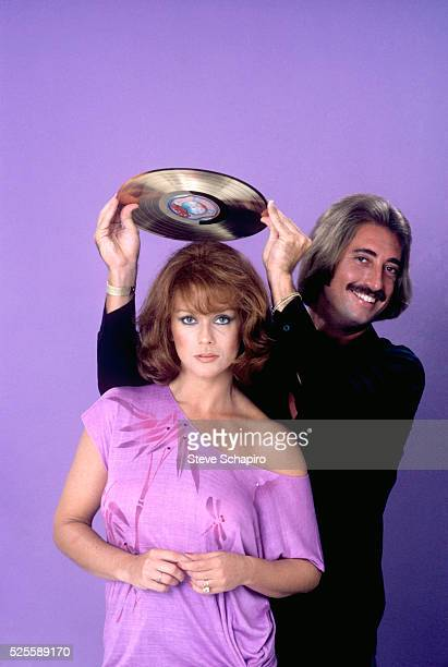 AnnMargret and record producer Marc Kreiner at the time Love Rush was released on Ocean Ariola records