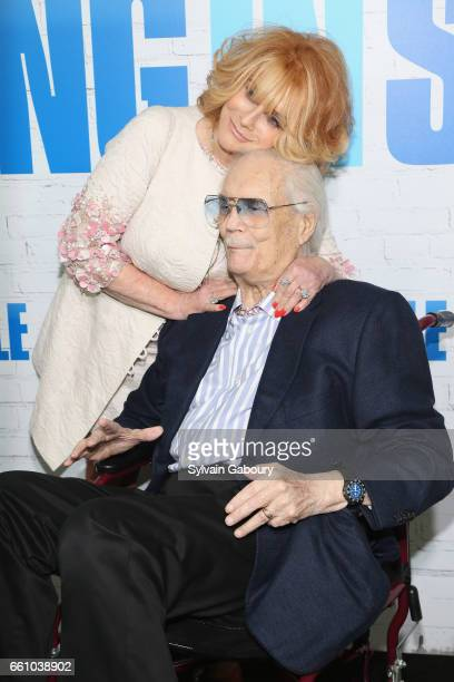 """Ann-Margret and Roger Smith attend """"Going in Style"""" World Premiere at SVA Theatre on March 30, 2017 in New York City."""