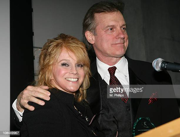 AnnMargret and Stephen Collins during St Joseph Center Hosts 21st Annual Dinner Dance and Auction at Skirball Center in Los Angeles California United...