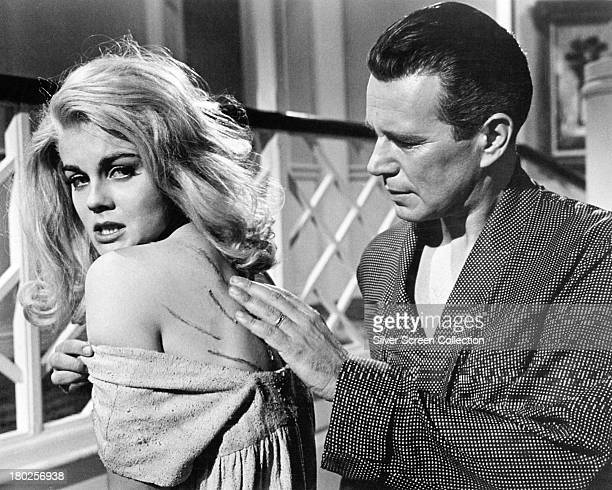 AnnMargret as Jody Dvorak and John Forsythe as David Stratton in 'Kitten With A Whip' directed by Douglas Heyes 1964