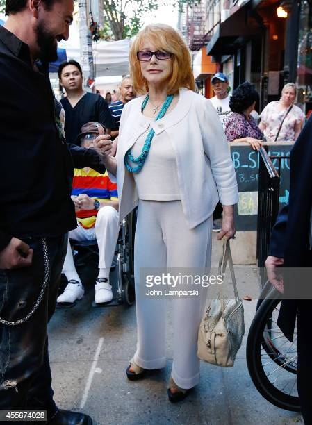 AnnMargret attends AnnMargret Honors The Wounded Warrior Project at Kiehl's Since 1851 Nolita on September 18 2014 in New York City